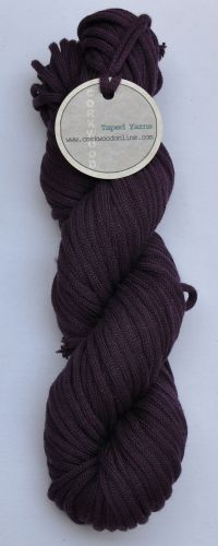 Gentian cotton Chunky Tape yarn 100g skein